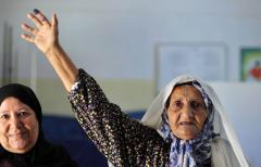 Praise heaped on Libya after historic vote