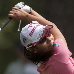 Ai Miyazato jumps to fifth in women's golf