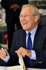 Rumsfeld calls Obama 'so-called commander in chief'