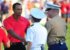 Woods remains No. 4 in world rankings