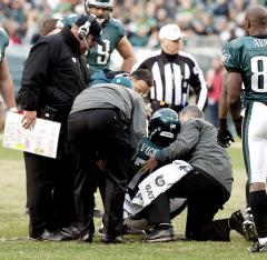 Vick to miss Thursday's game in Seattle