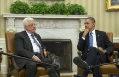 Abbas meets Obama at White House ahead of peace talks deadline