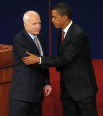 McCain, Obama square off in Mississippi