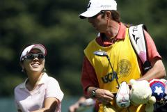 Mika Miyazato leads LPGA event in France