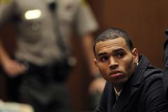 Chris Brown transported to Washington, D.C., in custody of U.S. Marshalls