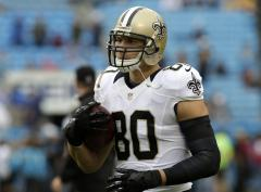 Saints confirm they'll use franchise tag on impending free agent Jimmy Graham if needed