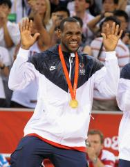 LeBron James wins NBA title, Olympic gold, MVP