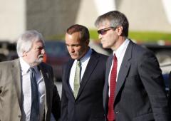 Witness: Big job hiding Edwards' mistress