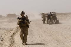 U.S. envoy discusses Afghan withdrawal