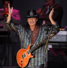 Carlos Santana falls asleep at the wheel, crashes car