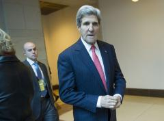 Kerry to reaffirm U.S.-South Korea ties in Seoul