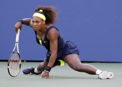 Serena Williams out with back injury