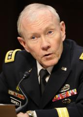 Senate confirms Dempsey as Joint Chiefs chairman