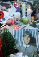 John Lennon's Hollywood Walk of Fame star defaced