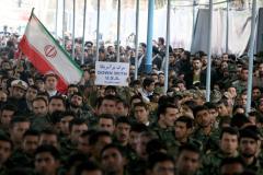 Iran shakes up guards, U.S. 'ships bombs'