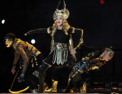 Madonna admits she felt like an outsider in England