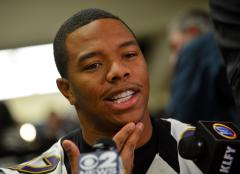 Burglar ransacks suburban home of Baltimore Ravens Ray Rice
