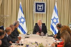 Israeli President Shimon Peres: Give peace a chance