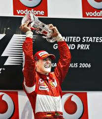 Auto racing great Schumacher shows signs of improvement