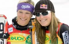 Vonn claims overall skiing title