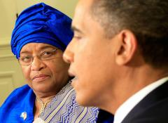 Liberian president expected to win runoff