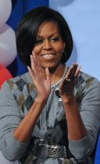 Michelle Obama named fitness role model