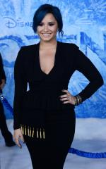 Demi Lovato tour visits NY: Tears, bras, and fans flipping the bird