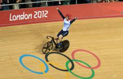 Britain wins fifth cycling gold