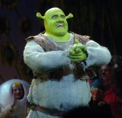 'Shrek The Musical' opens on Broadway