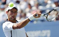Djokovic opens Australian Open with win