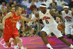 U.S. fights off Spain for basketball gold