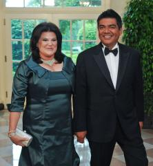 George and Ann Lopez divorcing
