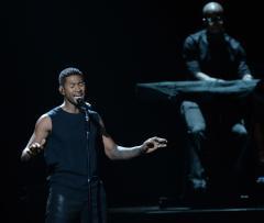 Report: Usher's stepson brain-dead