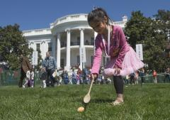 Easter Egg Roll brings thousands to White House