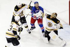 NHL: Boston 3, New York Rangers 2