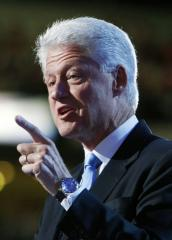 Bill Clinton puts Democratic convention back on track