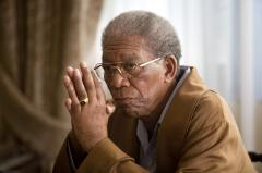 Morgan Freeman remembers Nelson Mandela
