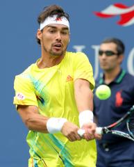 Fognini moves to second round at Nice Open