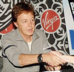 McCartney performs first concert in Israel