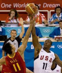 U.S. Olympic basketball training team chosen