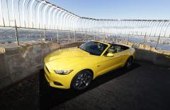 Ford unveils 50th anniversary Mustang atop the Empire State Building