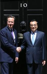Protests arise in London in response to Chinese premier's U.K. visit