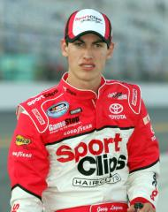 Logano holds on for Nationwide win