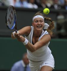 Kvitova moves to career-high No. 3 ranking