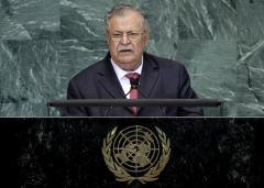 Iraq's Talabani flown to German hospital