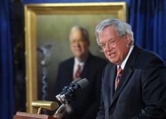 Former speaker Hastert donates land