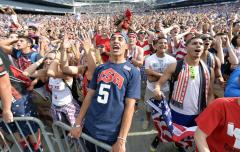 'Teddy Goalsevelt' returns home to World Cup fandom