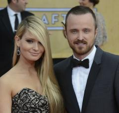 Aaron Paul and Lauren Parsekian get married in Malibu