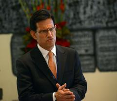 Immigration protest erupts at Eric Cantor's election rally