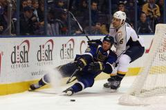 Preds' Weber, Leafs' Liles concussed